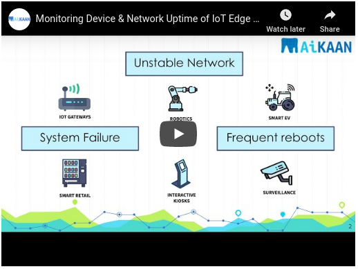 Monitor Device & Network Uptime for Remote Edge devices